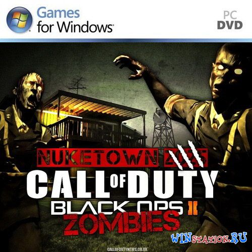 Скачать Call of Duty: Black Ops II - Zombies + DLC бесплатно