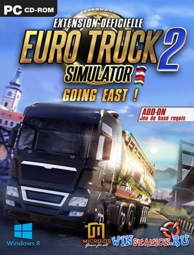Скачать игру Euro Truck Simulator 2 - Going East!