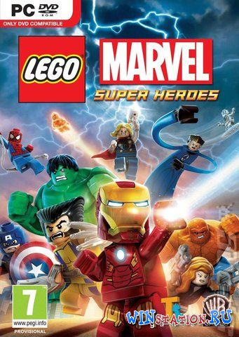 Скачать LEGO Marvel SuperHeroes бесплатно