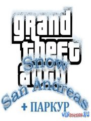 GTA San Andreas Snow + ПАРКУР