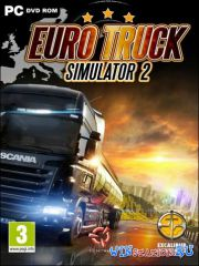 Euro Truck Simulator 2 [v.1.7.0.48147 + 2 DLC] (2012/Rus/Repack by z10yded)