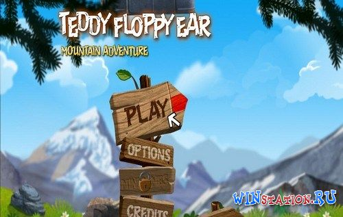 ������� ���� Teddy Floppy Ear - Mountain Adventure