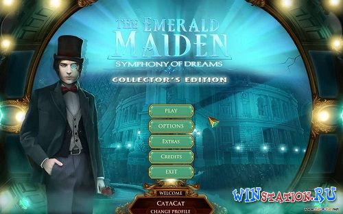 Скачать игру The Emerald Maiden: Symphony of Dreams CE