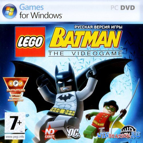 Скачать игру LEGO Batman: The Videogame