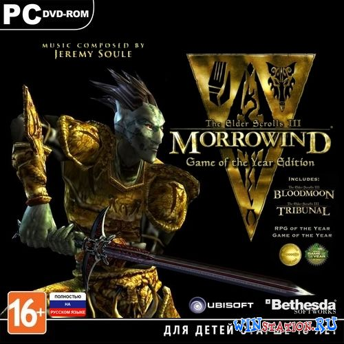 Скачать The Elder Scrolls III: Morrowind - Game Of The Year Special Edition бесплатно