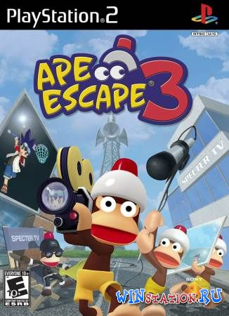������� ���� Ape Escape 3