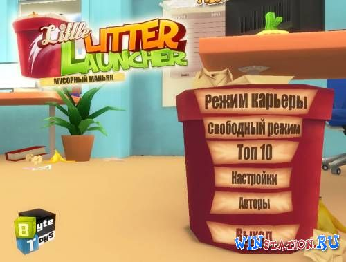 Скачать игру Little Litter Launcher: Мусорный маньяк
