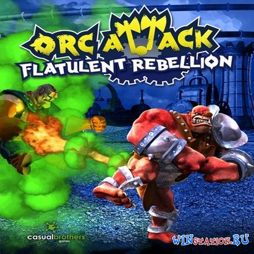 Скачать игру Orc Attack: Flatulent Rebellion (Reverb)