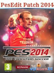 PESEdit Patch 2014 (Pro Evolution Soccer 2014) v4.3