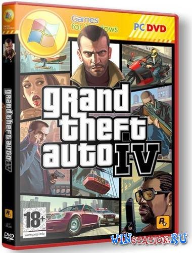 Скачать Grand Theft Auto IV in style GTA V [v1.0.4.0] (Rockstar Games) бесплатно