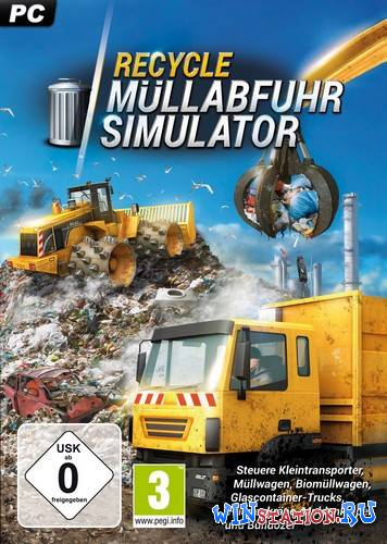 Скачать RECYCLE: Garbage Truck Simulator бесплатно