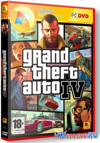 Скачать GTA 4 / Grand Theft Auto IV - Winter Edition [V2.0] бесплатно