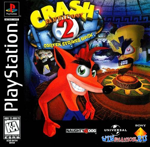 —качать Crash Bandicoot 2: Cortex Strikes Back бесплатно