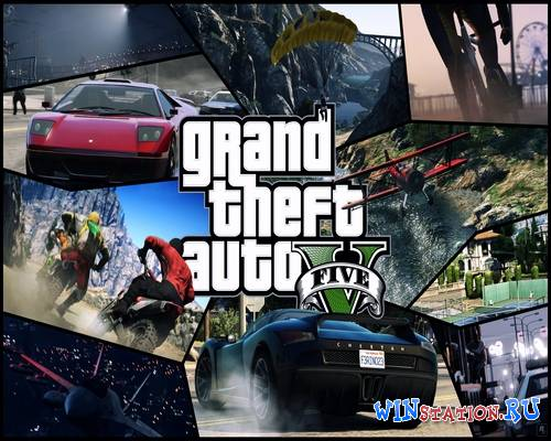Grand Theft Auto V Update 3 and Crack v4