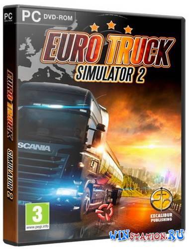 Скачать игру Euro Truck Simulator 2 бесплатно торрентом