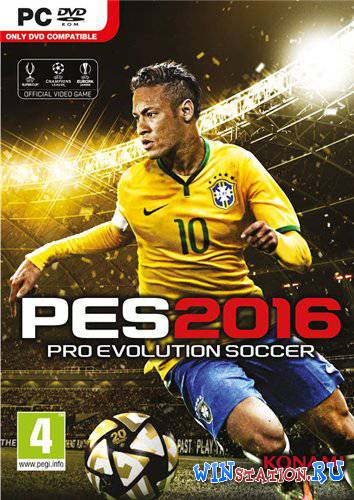 Скачать Pro Evolution Soccer 2016 - Update v1.03 бесплатно