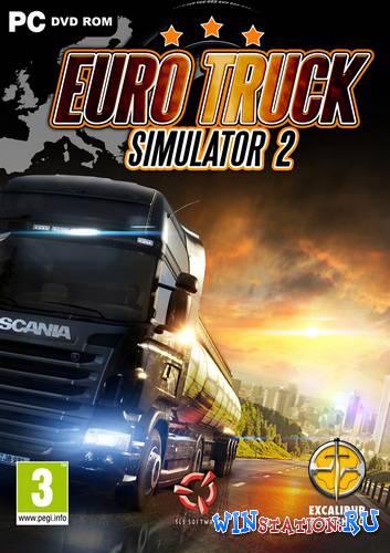 Скачать Euro Truck Simulator 2 [v 1.22.2s + 29 DLC] бесплатно