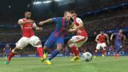 Pro Evolution Soccer 2017 геймплей