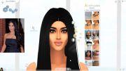 Ким Кардашян в игре Sims 4