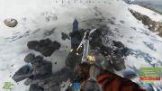 Снежная локация в игре Раст