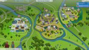 The Sims 4: Discover University карта новых локаций