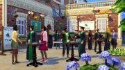 Выпускной курс в игре The Sims 4: В университете