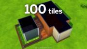 100 плиток для постройки дома