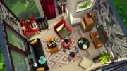 Тесная но удобная комната для симов