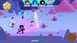 Скриншот игры Steven Universe: Unleash the Light